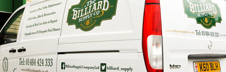 billiard supply co van